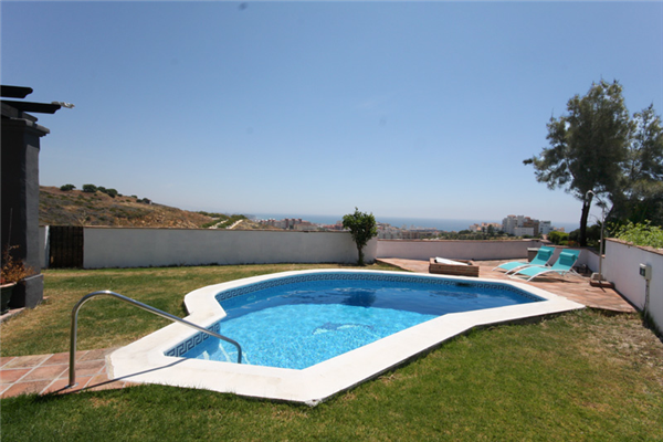 Holiday rental accommodation costa del sol villas to rent - Length of swimming pool in meters ...